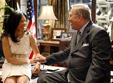 "Dirty Sexy Money - Season 2, ""The Summer House"" - Lucy Liu as Nola Lyons, Ken Howard"