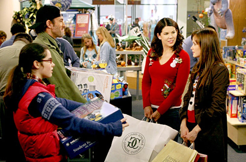 "Gilmore Girls -""Santa's Secret Stuff""- Vanessa Marano, Scott Patterson, Lauren Graham, Alexis Bledel"
