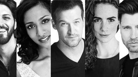 Shazad Latif, Rekha Sharma, Kenneth Mitchell, Clare McConnell and Damon Runyan, Star Trek: Discovery