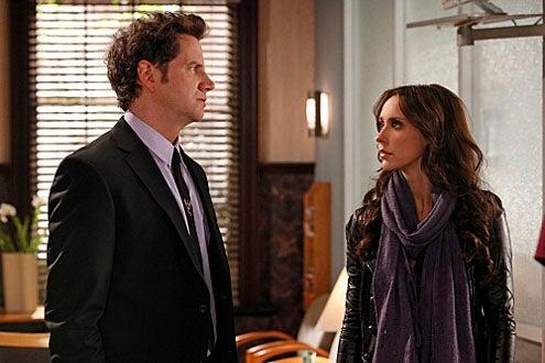"Ghost Whisperer - Season 5 - ""Living Nightmare"" - Jamie Kennedy and Jennifer Love Hewitt"