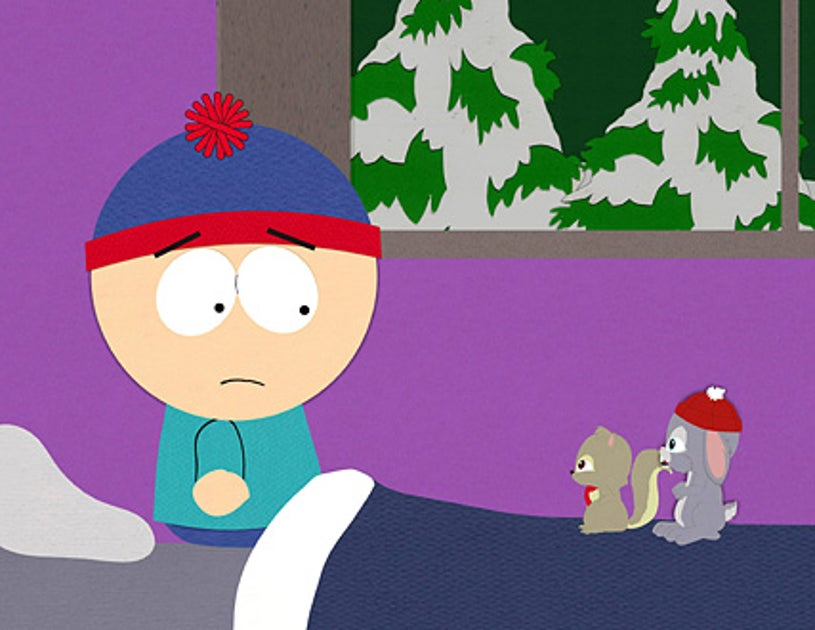 """South Park - """"Woodland Critter Christmas"""" - Stan with Woodland critters"""