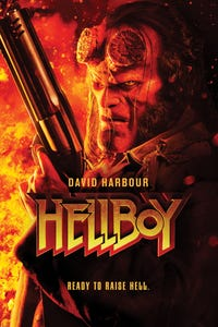 "Hellboy as le professeur Trevor ""Broom"" Bruttenholm"