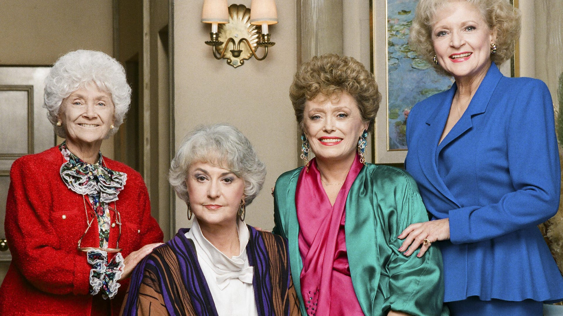 Estelle Getty, Bea Arthur, Rue McClanahan, Betty White, Golden Girls