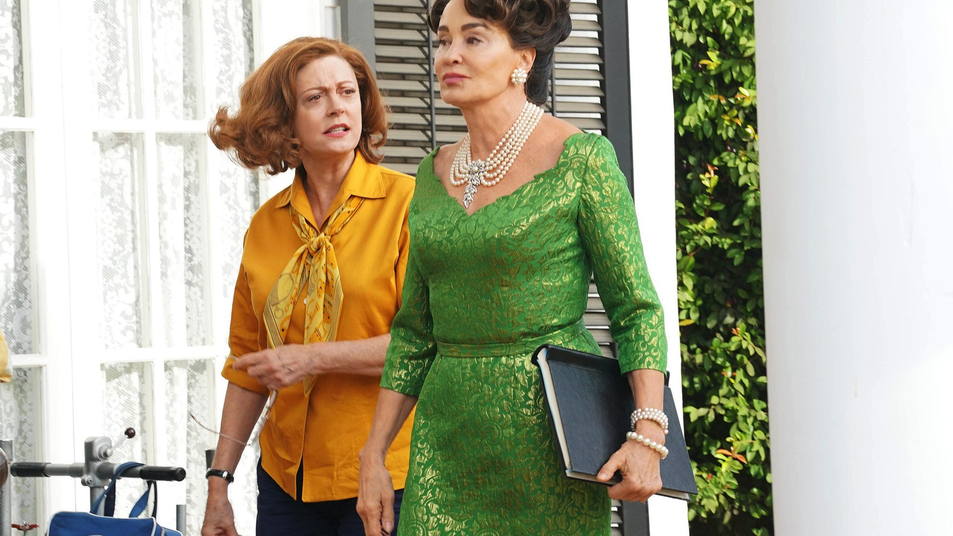 Susan Sarandon and Jessica Lange, Feud: Bette and Joan