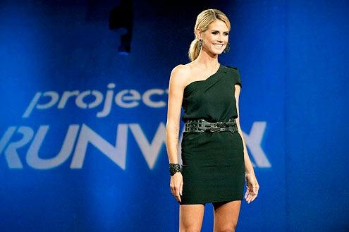 "Project Runway - Season 9 - ""Image Is Everything"" - Heidi Klum"