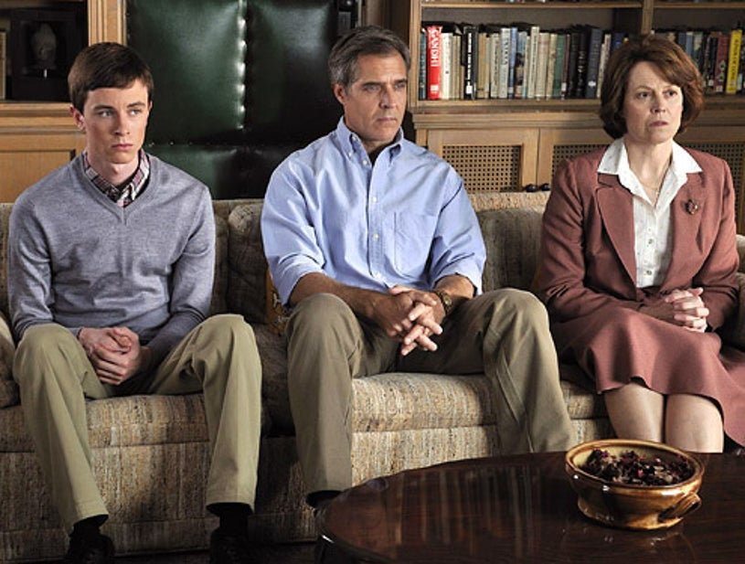 Prayers for Bobby - Ryan Kelley as Bobby, Henry Czerny as Bob and Signourney Weaver as Mary Griffith
