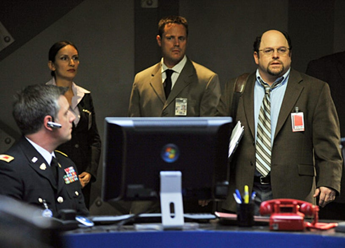 Meteor - David Starzyk as Colonel Beck, Jason Alexander as Mr. Chetwyn