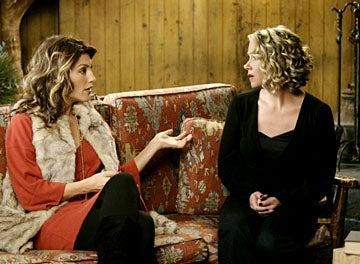 "Samantha Who? - Season 2, ""The Family Vacation"" - Jennifer Esposito as Andrea, Christina Applegate as Sam"