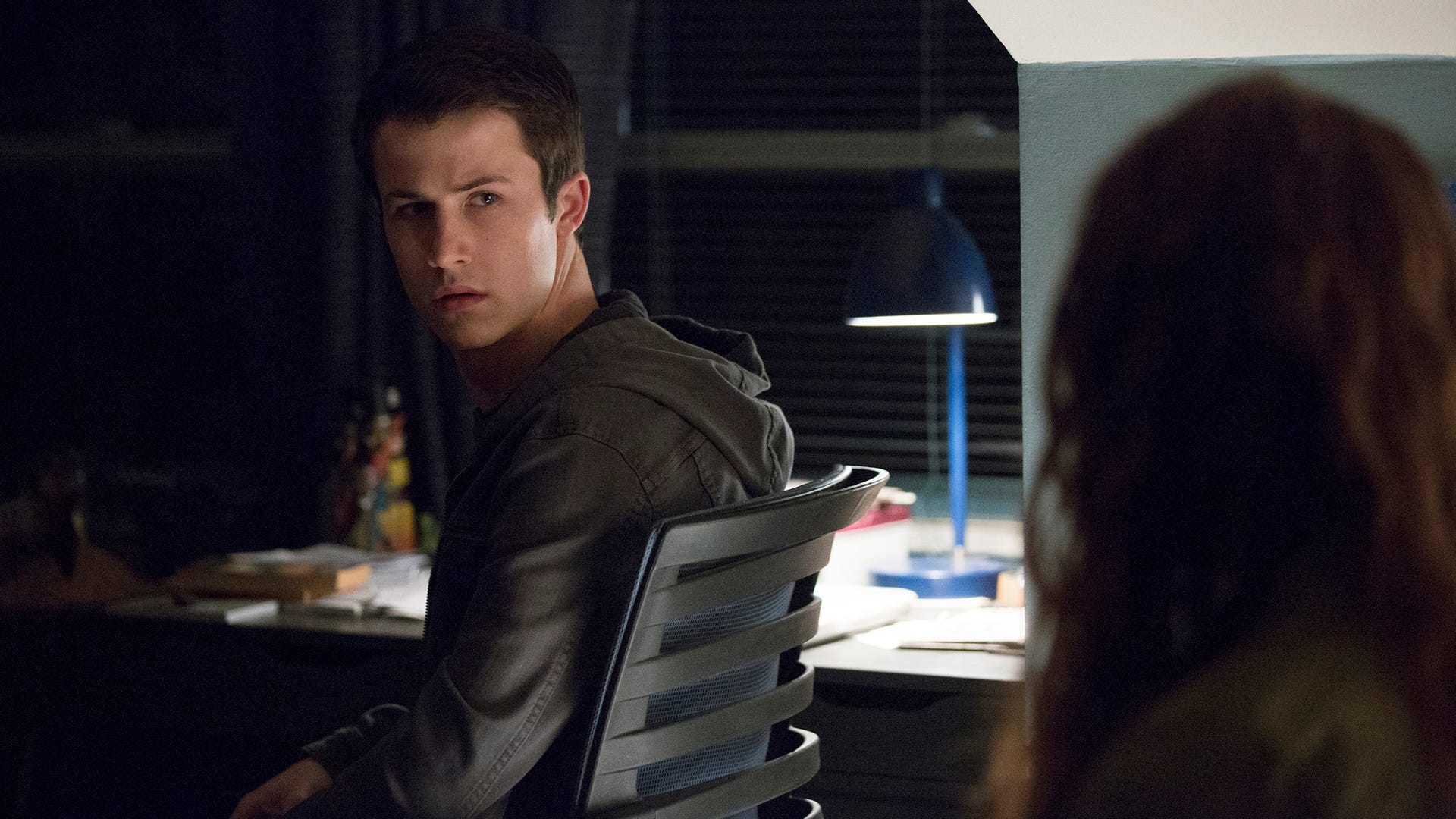 Dylan Minette and Katherine Langford, 13 Reasons Why