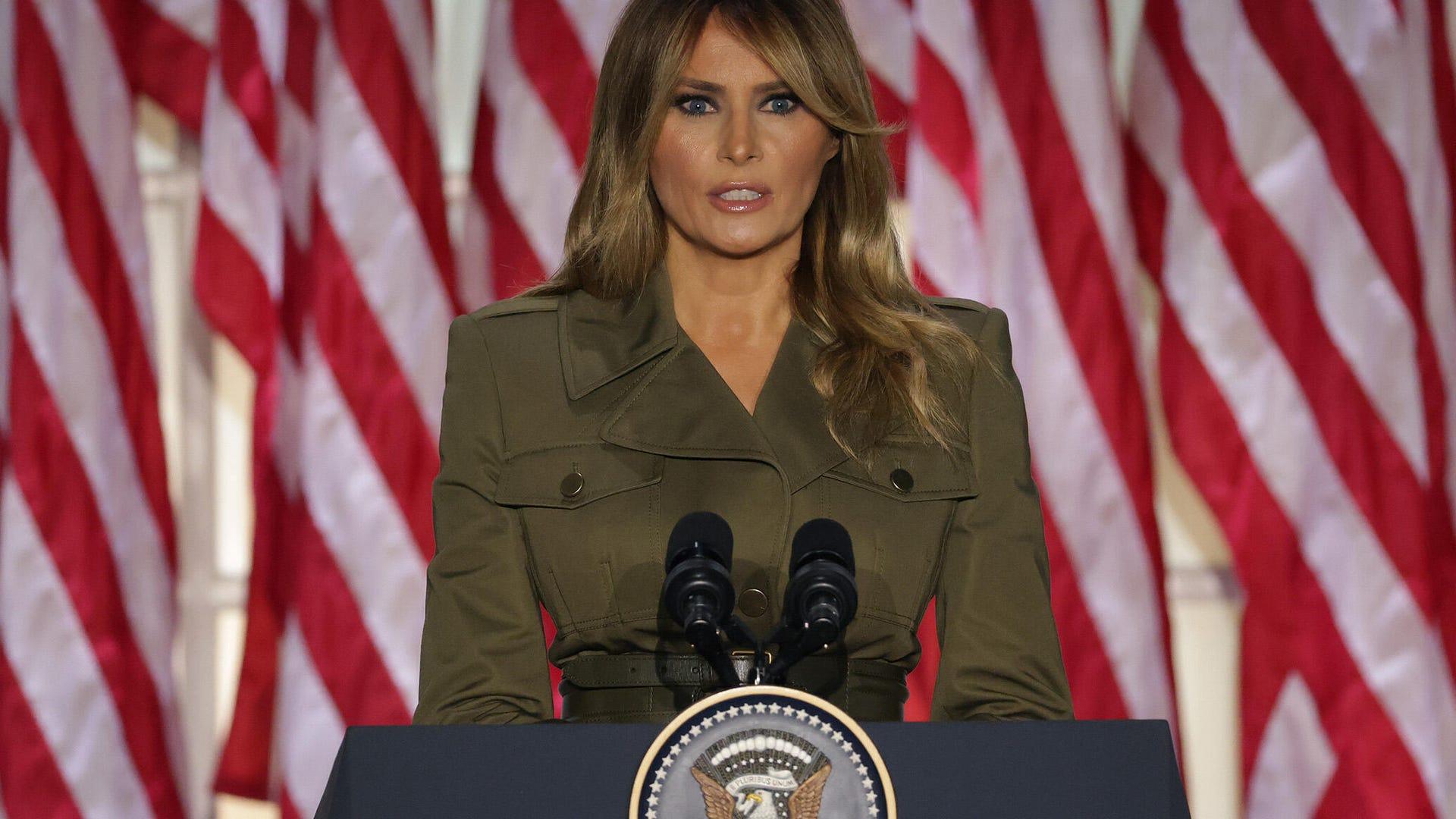 Melania Trump, 2020 Republican National Convention