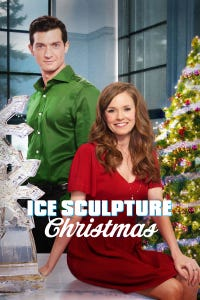Ice Sculpture Christmas as Callie Shaw