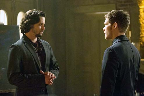 "The Originals - Season 1- ""Moon Over Bourbon Street"" - Nathan Parsons and Joseph Morgan"