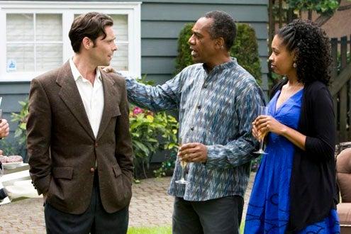 "Eureka - Season 4 - ""The Ex-Files"" -  James Callis, Joe Morton and Tembi Locke"