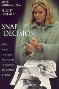 Snap Decision as Det. John Collins