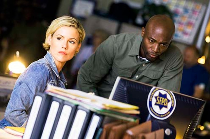 """Murder in the First - Season 1 - """"Pilot"""" - Kathleen Robertson and Taye Diggs"""