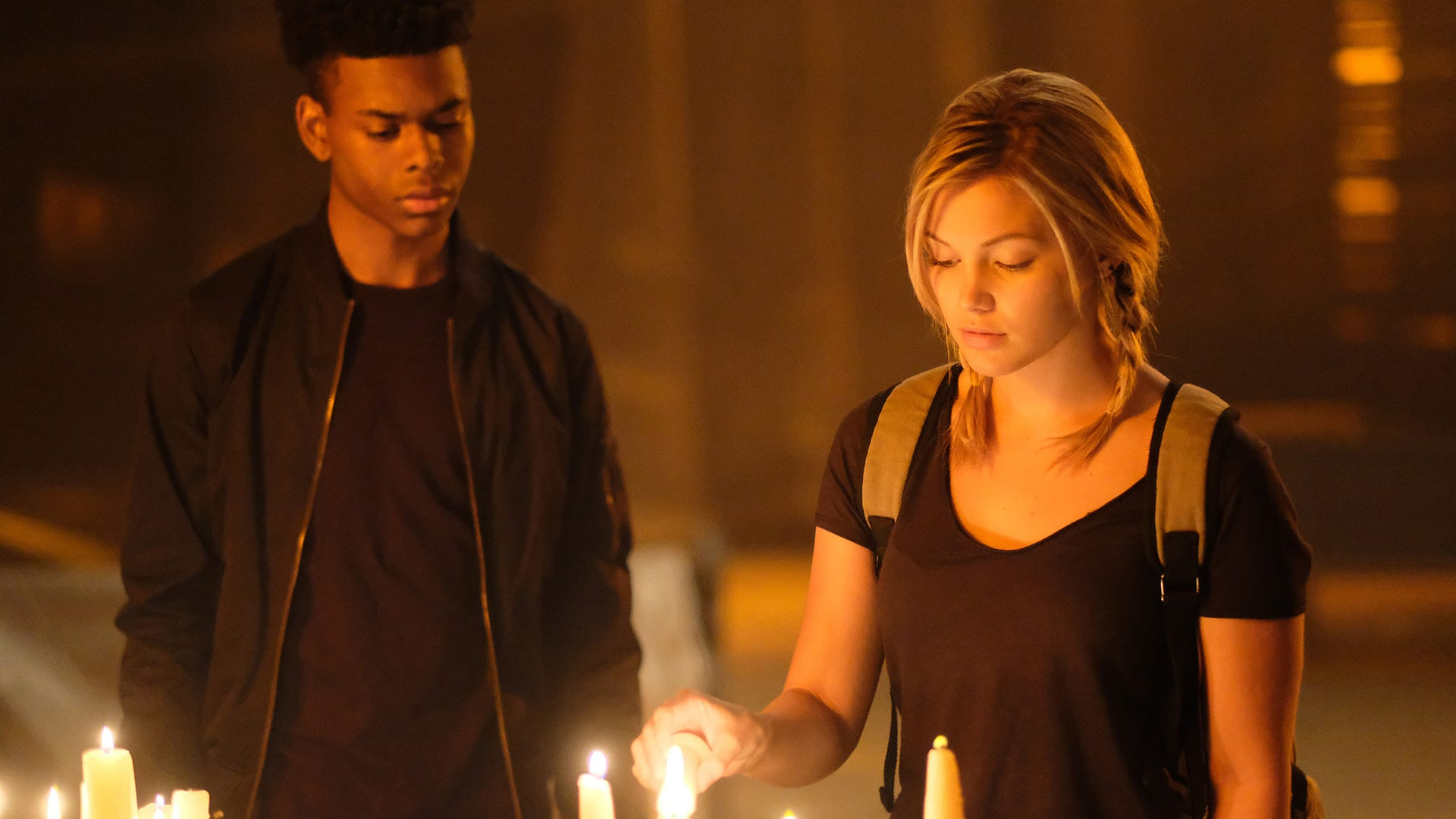 Aubrey Joseph and Olivia Holt, Marvel's Cloak & Dagger
