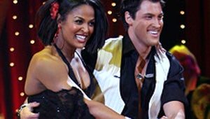 Backstage at Dancing with the Stars: Ali's Emotional Visit