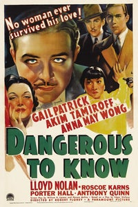Dangerous to Know as Sen. Carson