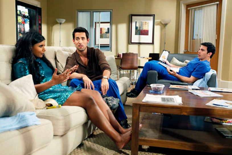 The Mindy Project - Season 1 - Mindy Kaling, Ed Weeks and Chris Messina