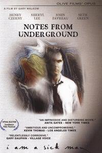 Notes From Underground as The Underground Man