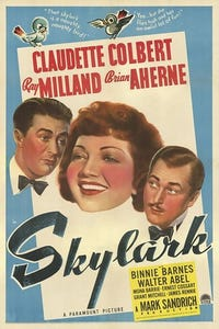 Skylark as Man in Front of Tony