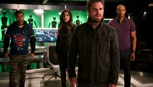 Brace Yourself for Arrow Stars' Touching Photos From Last Days on Set