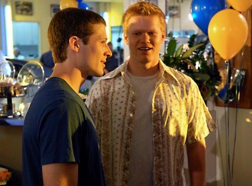 "Friday Night Lights - Season 3 Premiere, ""I Knew You When"" - Zach Gilford as Matt Saracen, Jesse Plemons as Landry Clarke"