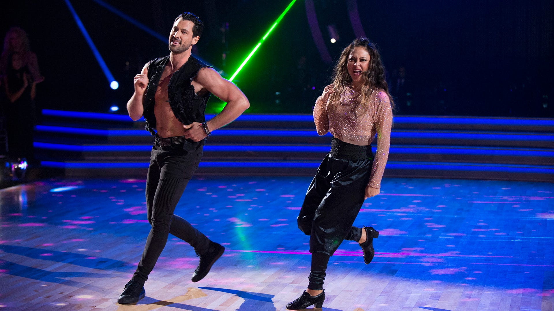 Maksim Chmerkovskiy and Vanessa Lachey, Dancing with the Stars