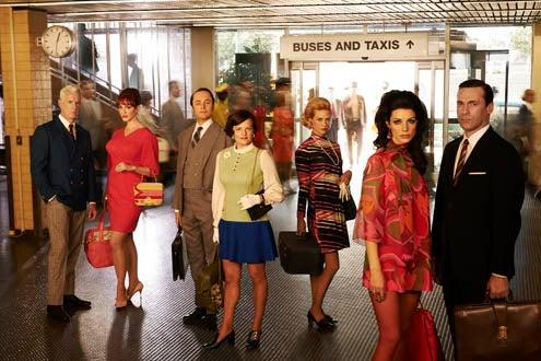 Mad Men - Season 7 - John Slattery, Christina Hendricks, Vincent Kartheiser, Elisabeth Moss, January Jones, Jessica Pare, Jon Hamm