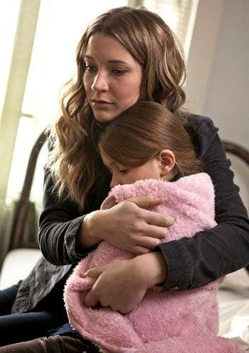 """The Event - Season 1 - """"Turnabout"""" - Sarah Roemer as Leila Buchanan and Anna Clark as Samantha Buchanan"""