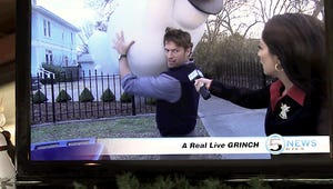 """Exclusive Angels Sing Video: Watch Harry Connick Jr. """"Trash"""" Christmas!"""
