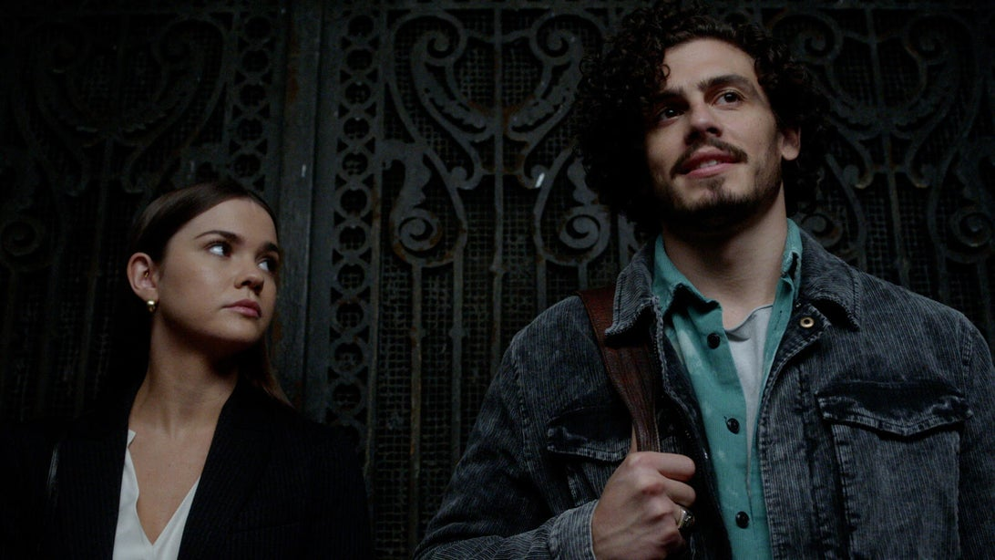 Maia Mitchell and Tommy Martinez, Good Trouble
