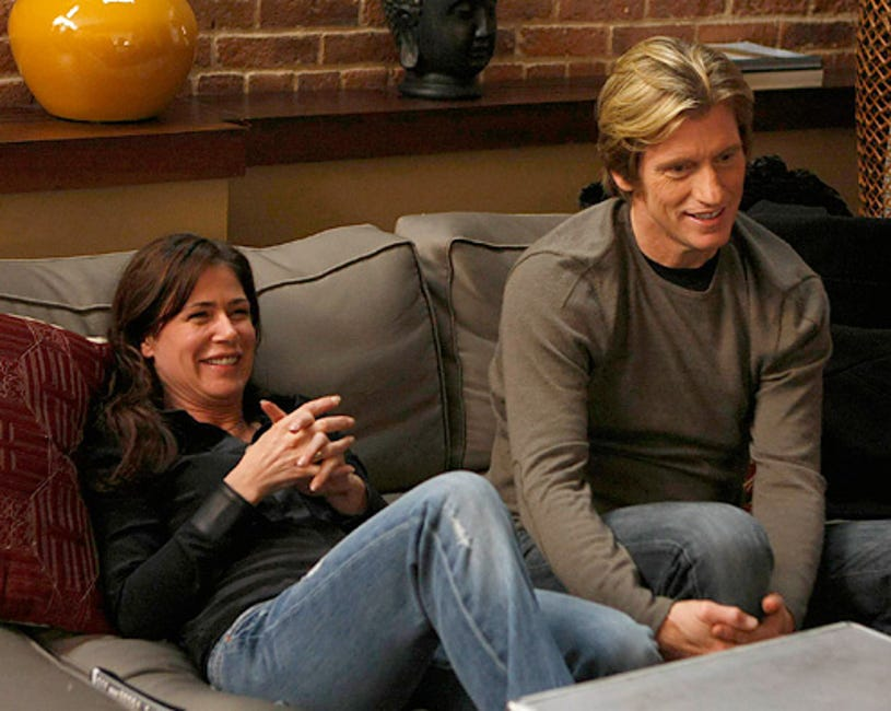 """Rescue Me - Season 5 - """"ZIPPO"""" - Maura Tierney and Denis Leary"""