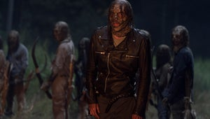 The Walking Dead Finally Showed Us What Negan Looks Like in a Whisperer Mask