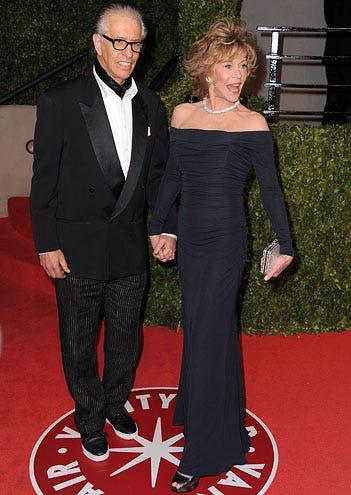 Richard Perry and Jane Fonda - The Vanity Fair Oscar party hosted by Graydon Carter, February 27, 2011
