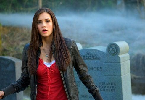 "Vampire Diaries - Season 1 - ""Pilot"" - Nina Dobrev as Elena"
