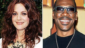Eddie Murphy and Drew Barrymore Top Forbes' Most Overpaid Stars List