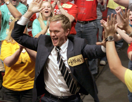 "How I Met Your Mother - ""Showdown"" - Neil Patrick Harris as Barney"