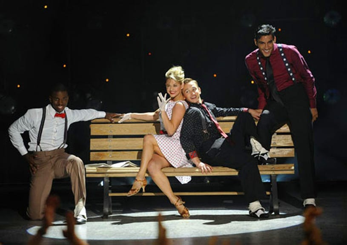 So You Think You Can Dance - Season 7 - Adechike Torbert, Lauren Froderman, Kent Boyd and Robert Roldan perform a Contemporary routine