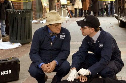 "NCIS - Season 6, ""Broken Bird"" - David McCallum as Ducky, Brian Dietzen as Jimmy Palmer"