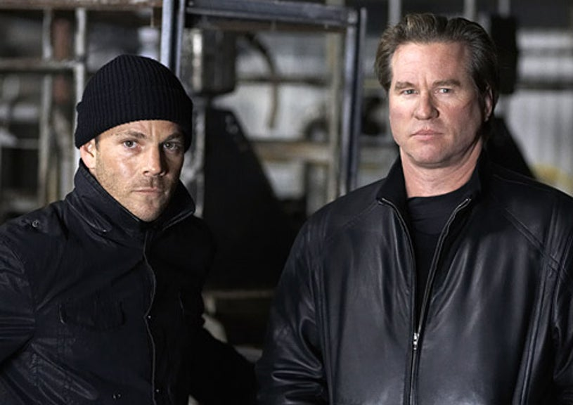 """XIII - Stephen Dorff as Steve Rowland and Val Kilmer as """"The Mongoose"""""""