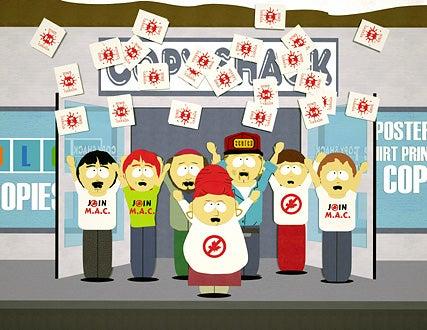 South Park - Randy, Carol, Gerald, Sheila, Stuart and Sharon
