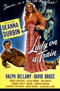 Lady on a Train as Conductor