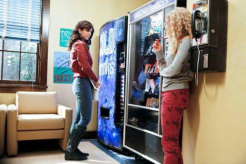 "The Carrie Diaries - Season 1 - "" Lie With Me"" - Katie Findlay and AnnaSophia Robb"