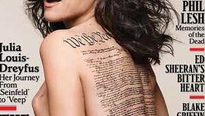 Julia Louis-Dreyfus Gets Naked, Looks Great on Rolling Stone Cover