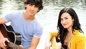 The Jonas Brothers and Demi Lovato Get Ready to Rock