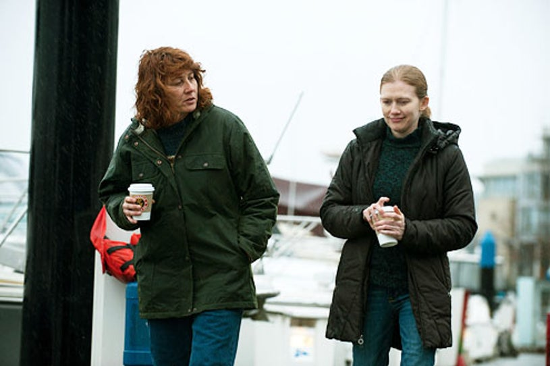 "The Killing - Season 2 -""Ogi Jun"" - Annie Corley and Mireille Enos"