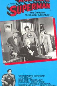 Atom Man vs. Superman as Perry White