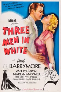 Three Men in White as Jean Brown