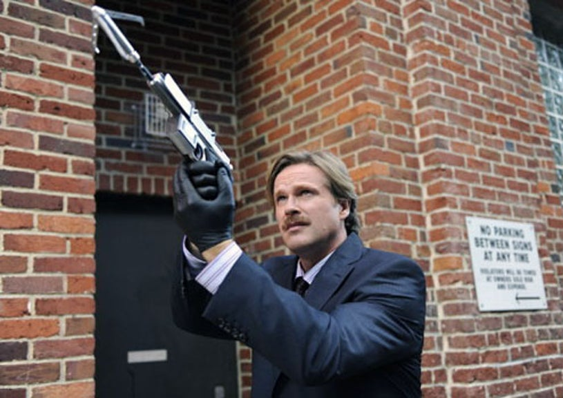 """Psych - Season 4 - """"Extradition II"""" - Cary Elwes as Despereaux"""